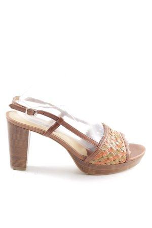Zinda Riemchen-Sandaletten mehrfarbig Casual-Look