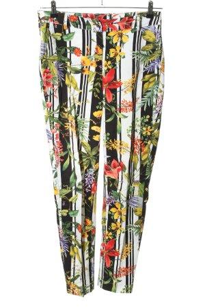 Zino Jordan Stoffhose Blumenmuster Casual-Look