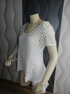 Unisono Kanten blouse wit Viscose