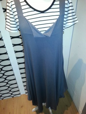 zipfelig geschnittene Tunika/Kleid