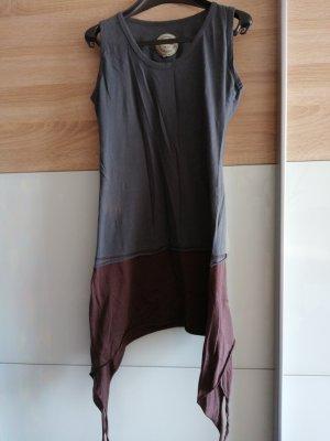 Vishes Sukienka tunika szary-brązowy
