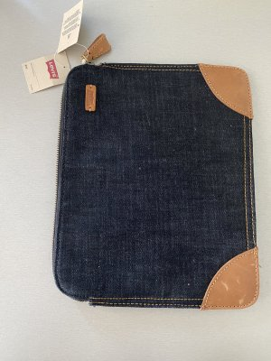 Levis Laptop bag dark blue-brown