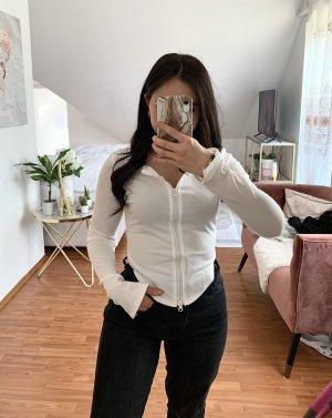 Zipper T-Shirt Ripped