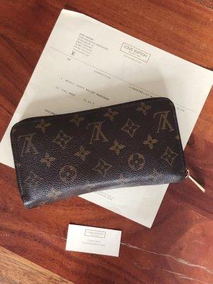 Zippy Wallet Monogram von Louis Vuitton mit Originalrechnung