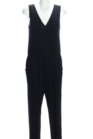 Zipups Jumpsuit schwarz Casual-Look