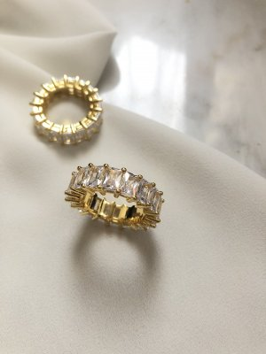 925 Gold Ring gold-colored