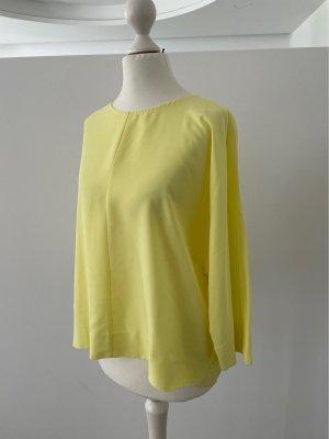 Benetton Kimono blouse sleutelbloem-geel Viscose