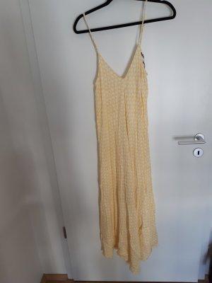 zitronengelbes Kleid ZARA