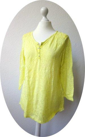 Street One Tunic Blouse yellow-neon yellow