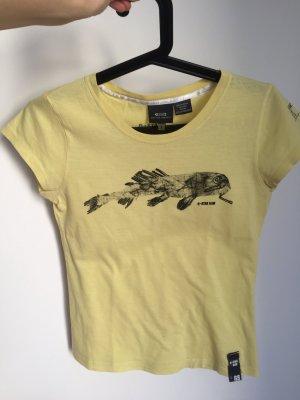 Zitronengelbes T-Shirt von G-Star