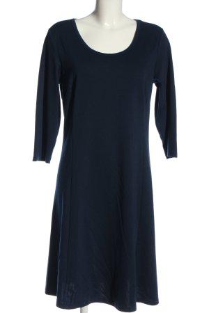 Zizzi A-Linien Kleid blau Casual-Look