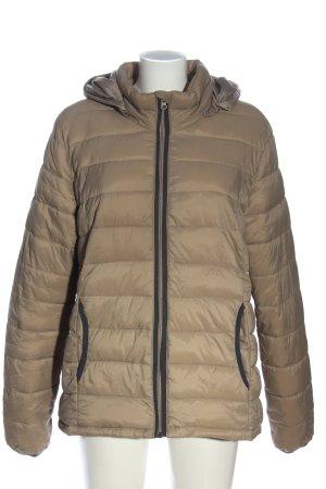 Zizzi Veste à capuche bronze motif de courtepointe style décontracté