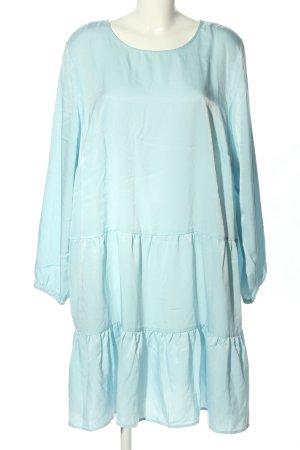 Zizzi Langarmkleid blau Casual-Look