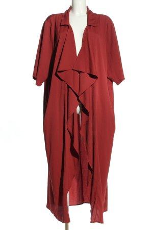 Zizzi Giacca lunga rosso stile casual