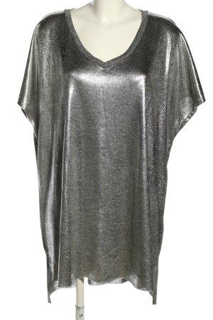Zizzi Oversized shirt zilver elegant