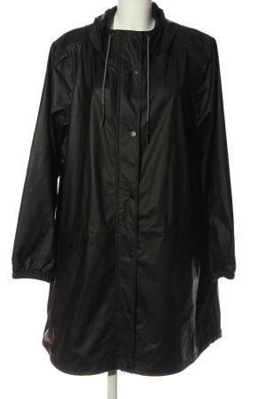 Zizzi Imperméable noir style simple