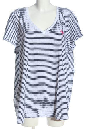 Zizzi Stripe Shirt themed print casual look