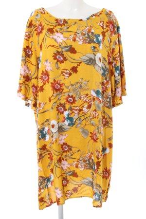 Zizzi Shirtkleid Allover-Druck Casual-Look