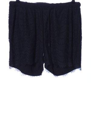 Zizzi Shorts schwarz Casual-Look