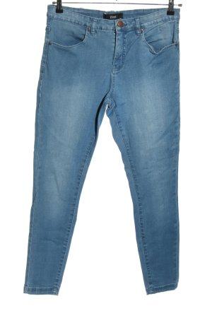 Zizzi Skinny Jeans blau Casual-Look