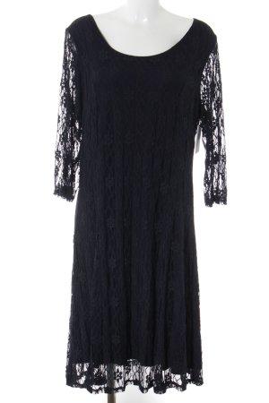Zizzi Spitzenkleid dunkelblau Elegant