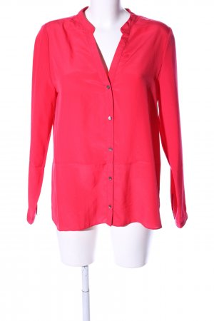 ZOA New York Langarm-Bluse pink Business-Look