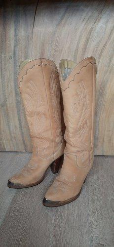 ZODIAC USA vintage cowboy boots western stiefel 80er