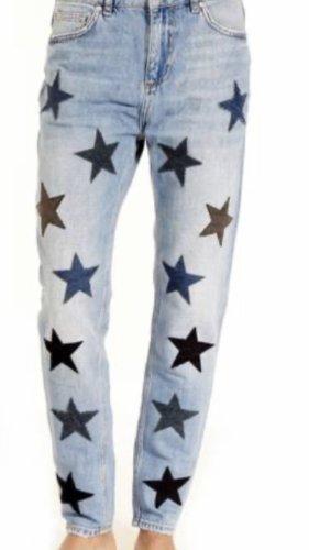 Zoe Karssen Pantalon taille haute multicolore