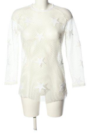 Zoe Karssen Manica lunga bianco stile casual
