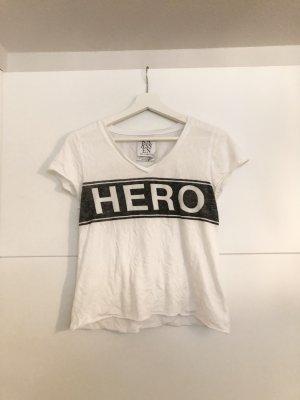 Zoe Karssen Oberteil Hero Weiß XS