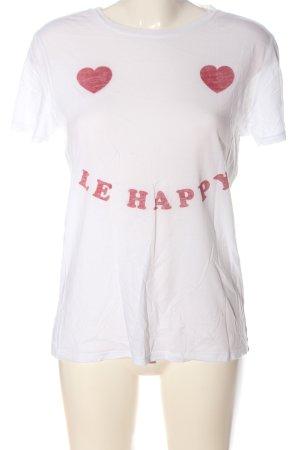 Zoe Karssen Print Shirt white-red themed print casual look