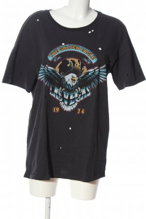 Zoe Karssen T-Shirt Motivdruck Casual-Look