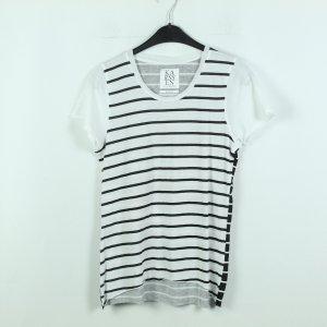Zoe Karssen T-Shirt Gr. XS schwarz weiß gestreift (20/06/061*)