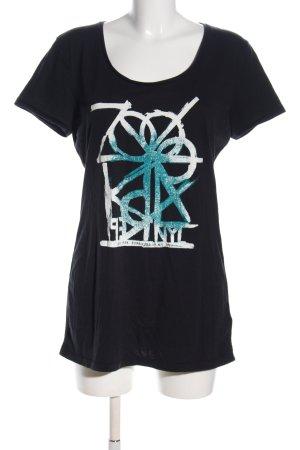 Zoo york Print-Shirt Motivdruck Casual-Look