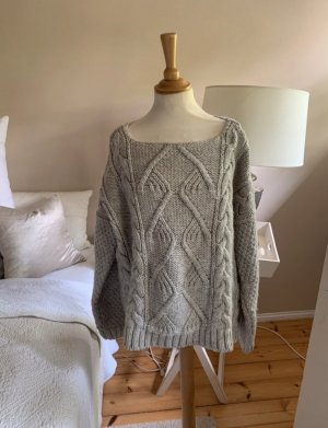 Zara Cable Sweater light grey