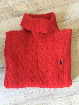 Zopfmuster Pullover Wolle/Kaschmir
