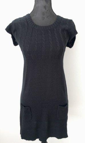 Shortsleeve Dress black mixture fibre