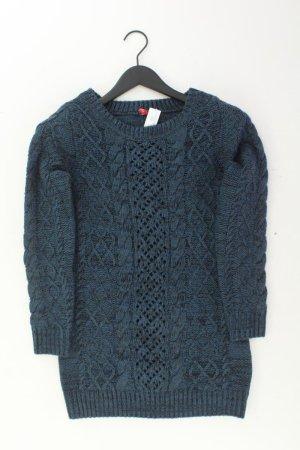 Warkoczowy sweter niebieski-niebieski neonowy-ciemnoniebieski-błękitny