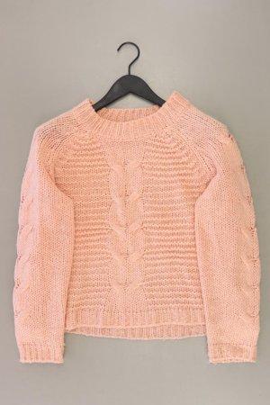 Jersey trenzado rosa empolvado-rosa-rosa claro-rosa Acrílico