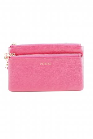 Clutch pink business style