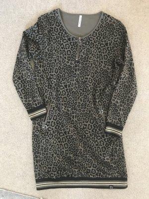 ZOSO Sukienka dresowa czarny-khaki