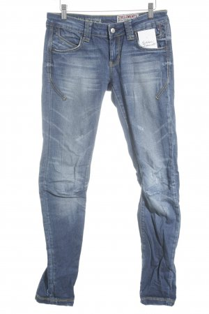 zu+elements Slim Jeans blau