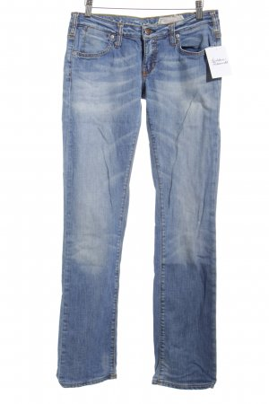 zu+elements Straight-Leg Jeans blau Casual-Look