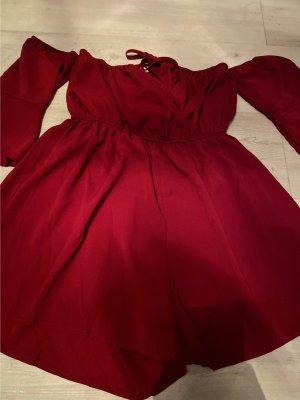 Zalando Beachwear dark red