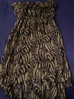 Jennifer Taylor Letnia sukienka kremowy