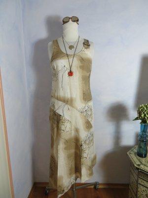 Zucchero Robe longue multicolore lin