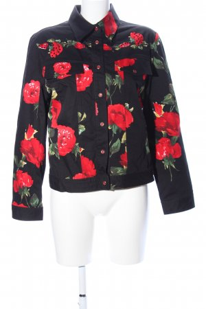 Zucchero Ripstop Jacket flower pattern casual look