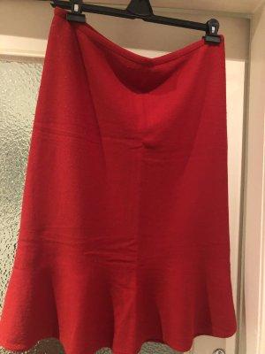 Zucchero Wełniana spódnica czerwony
