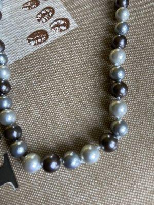 Zuchtwasser Perlen Halskette 47 cm