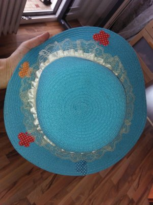 aus Ägypten Sun Hat multicolored mixture fibre